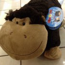 "Authentic Pillow Pets Silly Monkey Large 18"" Plush Toy Gift"