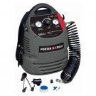 NEW! Porter-Cable CMB15 150 PSI 1.5 Gallon Oil-Free Fully Shrouded Compressor