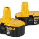 DEWALT DC9096-2 18-Volt XRP 2.4 Amp Hour NiCad Pod-Style Battery (2-Pack) NEW