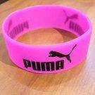 Puma Sport Silicone Wristband Bracelet  Pink-Black