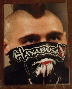 """UFC MMA DAN HARDY """"The Outlaw"""" autographed signed 8x10 photo"""