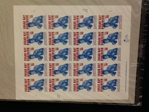 BOXING LEGEND Sugar Ray Robinson stamp sheet $7.80 face value