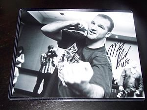 "UFC MMA MATT ""The Hammer"" HAMILL autographed signed 8x10 photo 2 w/COA"