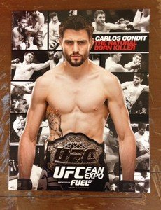 "UFC WEC MMA CARLOS CONDIT ""Natural Born Killer"" 8.5x11 UFC promo photo"