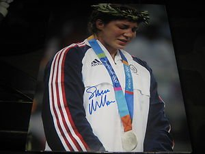 UFC MMA Olympics SARA MCMANN autographed signed 8x10 photo