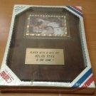 NOLAN RYAN whoops ROBIN VENTURA 1993 baseball souvenir plaque MIP Texas Rangers
