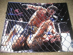 UFC MMA All-time Great JON FITCH autographed signed 8x10 photo