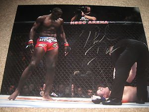 "UFC MMA PHIL DAVIS ""Mr. Wonderful"" autographed signed 8x10 photo"