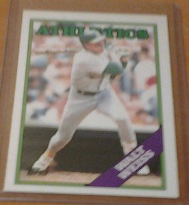 WALT WEISS Athletics 1988 Topps Traded rookie card