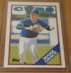 MARK GRACE Cubs Diamondbacks 1988 Topps Traded rookie card