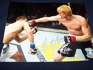 "UFC Bellator MMA MATT RIDDLE ""Deep Waters"" autographed signed 8x10 photo w/COA"