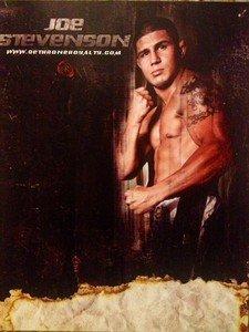 "UFC MMA JOE STEVENSON ""Daddy"" 8.5x11 Dethrone promo photo"