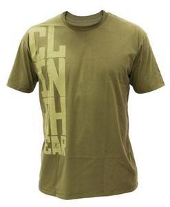CLINCH GEAR Stacked military green tee shirt mens XL UFC MMA Dan Hendo Henderson