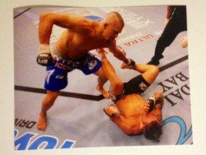 """UFC MMA Legend CHUCK """"The Iceman"""" LIDDELL 8x10 photo"""