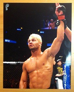 UFC MMA JOSH KOSCHECK wins 8x10 photo