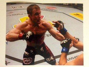 UFC MMA Legend MATT HUGHES 8x10 photo