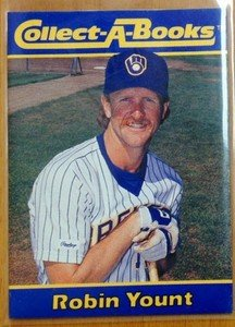 ROBIN YOUNT Brewers 1990 Collect-A-Books