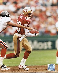JERRY RICE San Francisco 49ers 8x10 photo