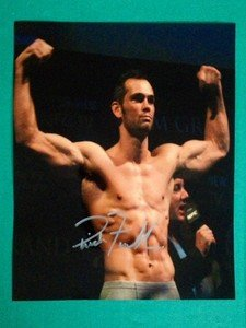 "UFC MMA Legend RICH ""ACE"" FRANKLIN autographed signed 8x10 photo"