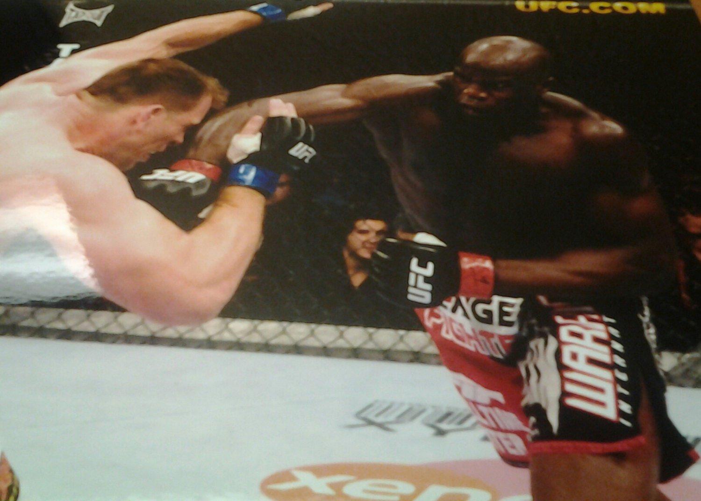 UFC MMA CHEICK KONGO smashes Hardonk 8x10 photo