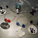 Dog Wine Glass Charms
