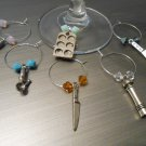 Kitchen Wine Glass Charms