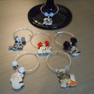 Halloween Wine Glass Charm Set