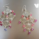Fan Chandelier Earrings