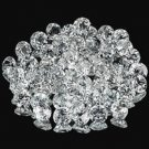 Certified  Lot of 50 Pieces AAA Quality Natural White Topaz 2 mm Round Cut Loose Gemstones
