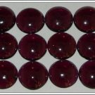 Certified 25 Pieces Lot Natural AAA Quality Indian Garnet 9 mm Round Cabochon Gemstones