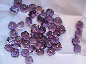 AAA Quality 15 Pieces Natural Amethyst 7 MM Cushion Loose Faceted Gemstones