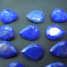 Certified Lot of 25 Pieces AAA Quality Lapis Lazuli 6x4 M.M. Pear Normal Cut