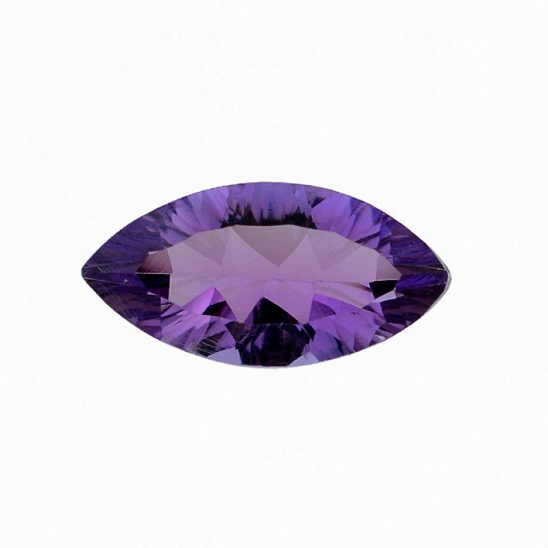 Certified AAA Quality 25 Pieces Natural Amethyst 7x14 mm Marquise Loose Faceted Gemstones