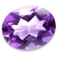 Certified AAA Quality 25 Pieces Natural Amethyst 4x6 mm Oval Loose Faceted Gemstones