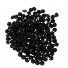 Certified Natural Black Spinel AAA Quality 1.1 mm Faceted Round 50 pcs lot
