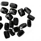 Certified Natural Black Spinel AAA Quality 7 mm Faceted Cushion  50 pcs lot