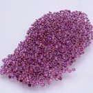 Certified Natural Rhodolite AAA Quality 1.5 mm Faceted Round 50 pcs lot
