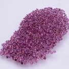 Certified Natural Rhodolite AAA Quality 3 mm Faceted Round 50 pcs lot