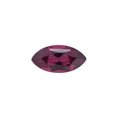 Certified Natural Rhodolite AAA Quality 10x5 mm Faceted Marquise 1 pc