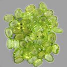 Natural Peridot 8x6mm Faceted  Cut Oval 10 Pieces Calibrated Size  Loose Gemstone
