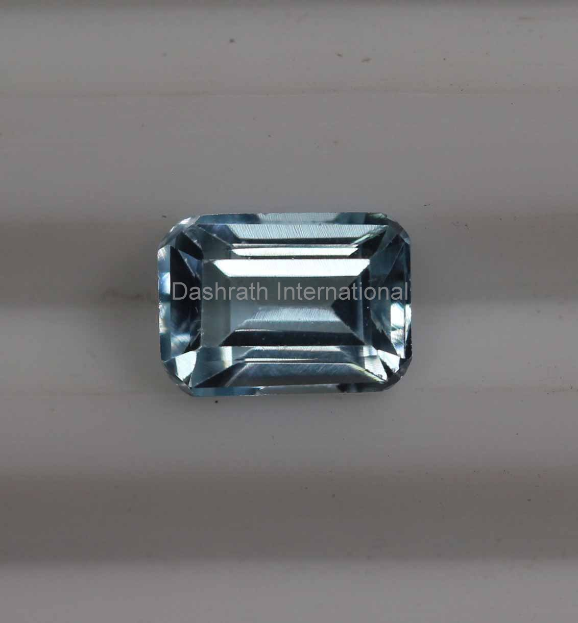 6x8mm Natural Sky Blue Topaz Faceted Cut Octagon 1 Piece    Top Quality Loose Gemstone