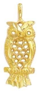 Owl Pendant Charm B-2