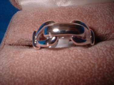 Designer Inspired Link Ring 32215