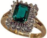 Emerald Cut CZ Fashion Ring