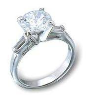 Solitaire Engagement Or Promice Ring 44602