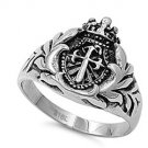 Christian Crusader Stainless Steel Ring SR-763