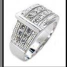 Designer Buckle Swarovski Crystal Ring 34606
