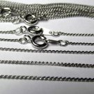 Rhodium Plated Economy Chain 18 Inch
