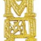 """NUMBER 1 MOM""  Pendant In Gold Or Rhodium w-75"