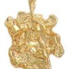 Gold Nugget Pendant NG-1